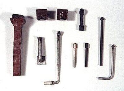 JL Innovative 501 HO Stovepipes & Chimneys Detail Set (10)