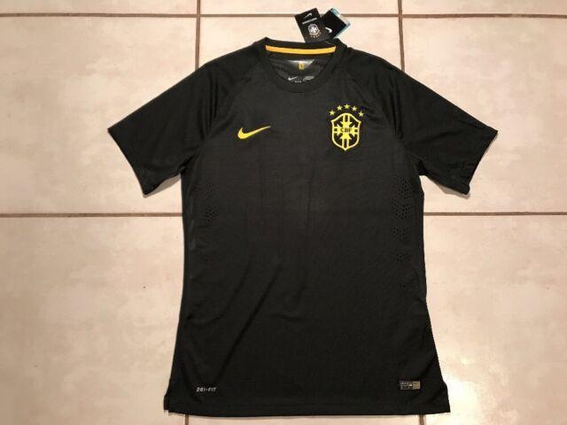 db82a3522d9 NWT NIKE Brazil National Team Player Issue 2014 Third Jersey Men's Medium  $150