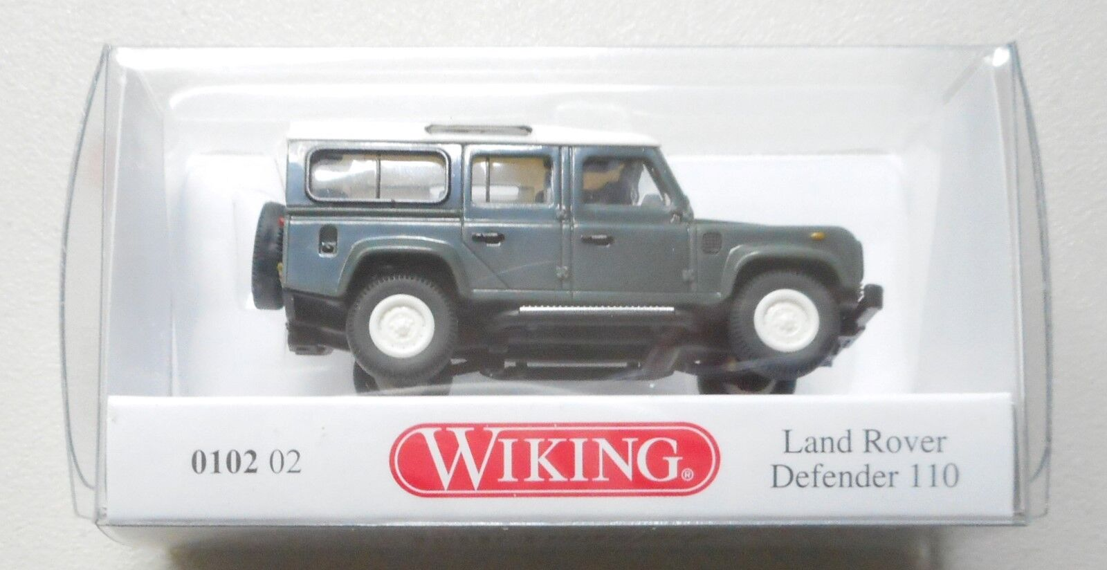 Land Rover Defender 110 WIKING 010203// 0102 03 H0, 1:87 NEUWARE!