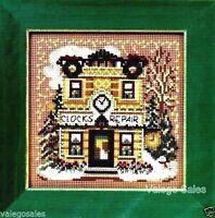 Clock Shoppe - Cross Stitch Kit Craft Supplies