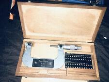 Brown Amp Sharpe 210 13 50 75mm Thread Micrometer