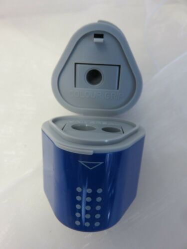 Faber Castell Dosenspitzer Spitzer FB Blau Universal und Colour Grip