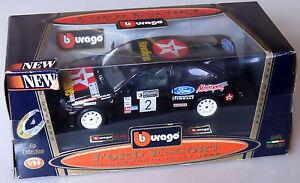 PRL-BBURAGO-BURAGO-1-24-METAL-FORD-ESCORT-RS-COSWORTH-RALLY-1996-MODEL-523-VIP