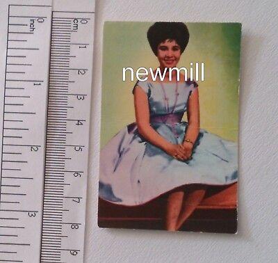 Non-sport Trading Cards Helen Shapiro Trading Card 1965 Finnland Kaugummi Music Sänger Harmonious Colors