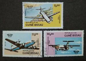 Guine-Bissau-1984-The-40th-Anniversary-Of-I-C-A-O-3v-Used