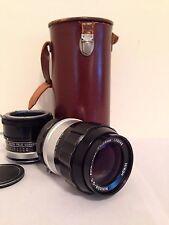 Nikon Nikkor-Q.C. 135mm f/3.5 Photomic Non-Ai Lens W/ Tele Converter + Case