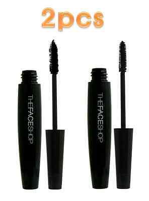 The Face Shop [1+1] PRESSIAN Big Mascara 2 picks, Volume or Curling w free gift
