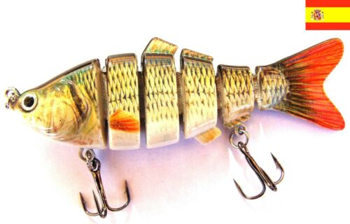 7 segmentos  Swimbait Pesca Señuelos Crankbait 2016 PECES ARTIFICIAL 150