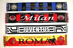 miglior sito in vendita all'ingrosso rivenditore online Details about Juventus Scarf Roma Inter Milan Sciarpa Juve Vintage Football  Scarves Serie A