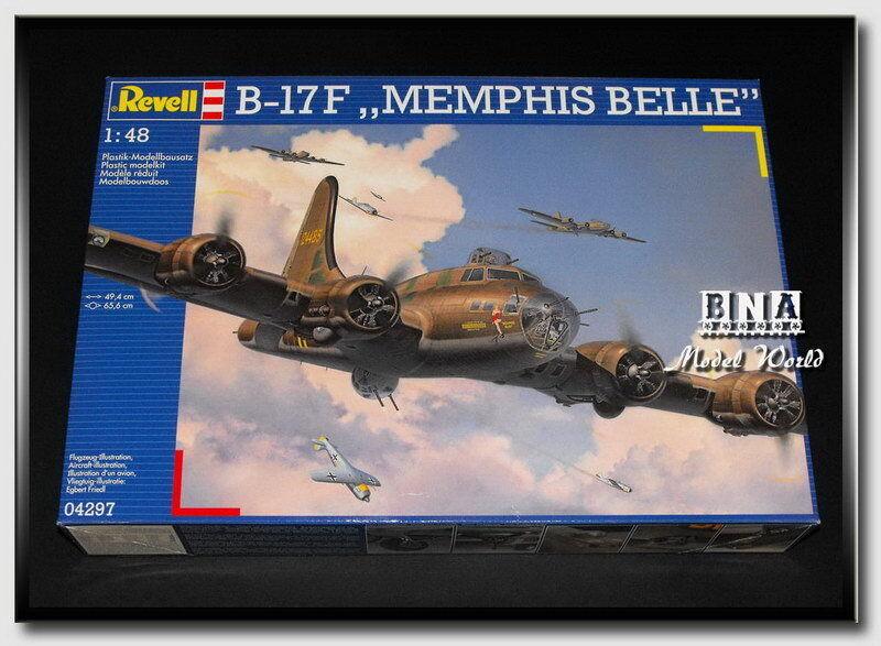 Revell Model  48 Boeing B-17F  Memphis Belle