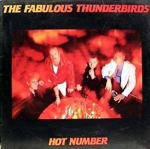 The Fabulous Thunderbirds - hot number LP