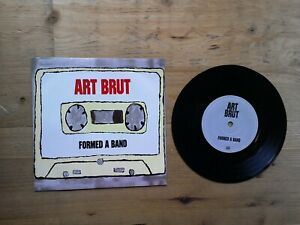 Art-Brut-Formed-A-Band-Bad-Weekend-7-034-Single-Very-Good-Vinyl-Record-RTRADS-174
