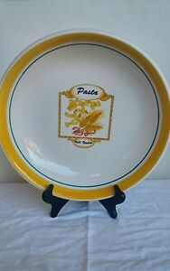 Extra Large Tre Ci Pasta Serving Bowl Bell Italia Made In Italy 11 3 ...