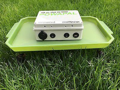 powapal mk2+12v portable power station for carp fishing bivvy power pack mobile