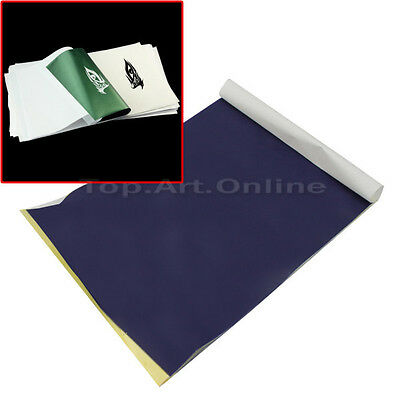 Set 10 Sheets Tattoo Carbon Transfer Copier Paper Stencil Master High Quality