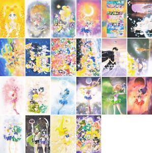 Sailor-Moon-Exhibition-Postcard-Post-Card-CHOOSE-Art-Book-Manga-Artbook