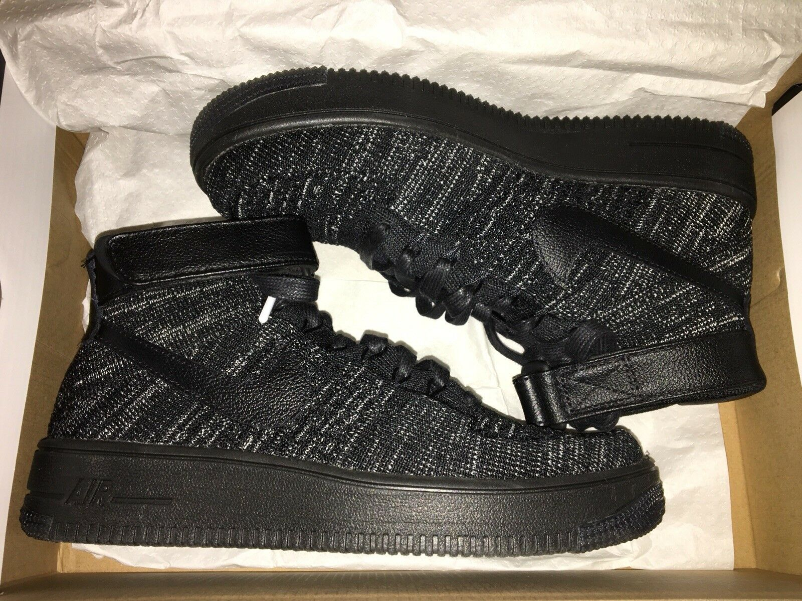 Nike Air Force 1 Flyknit Mid New shoes for men and women, limited time discount