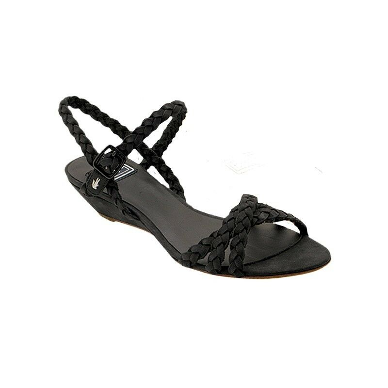 Lacoste París verano señoras Marrón Oscuro Zapatos UK4/EU37 PVP: