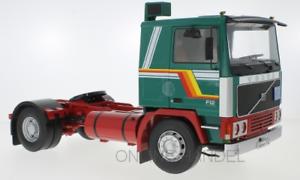 Ehrlich Weis Lkw Auf Achse Lkw Sattelzug Road Kings 1:18 Modell Guter Geschmack Volvo F12 Grün
