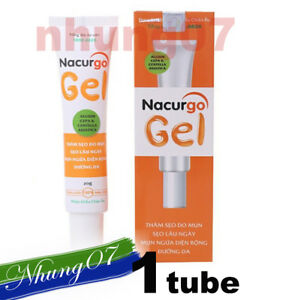 Nacurgo Gel Effectively Treat Acne 01 Tube TrỊ MỤn Effect Nacurgo Gel