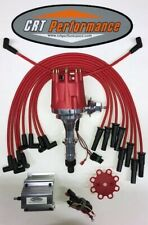 Pontiac 350 389 400 455 Small Cap Hei Distributor Red 60k Coil 8mm Wires
