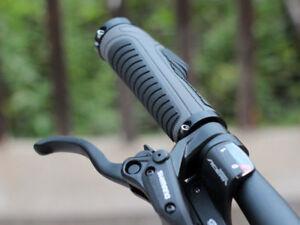 Shimano PRO Ergonomic Lock-on MTB Mountain Bike Handlebar Grips Black//Gray