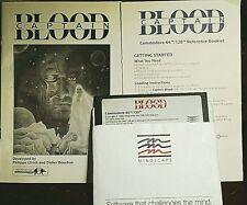 Captain Blood Commodore RARE Sci-Fi Arcade Game by Mindscape C 64 128 d C- SX-64