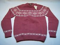 Kipi Of Maine Casual Pure Wool Crewneck Sweater Women's Size L
