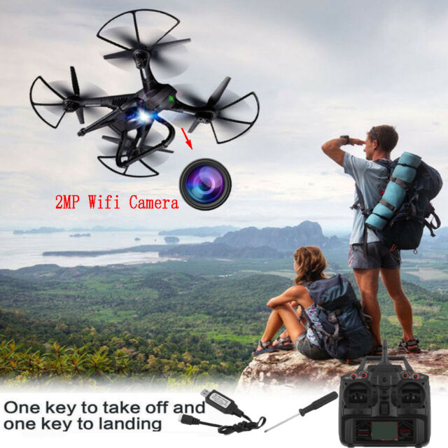 Global Drone X183 WiFi FPV 1080P Camera GPS Brushless Quadcopter Helicopter AS