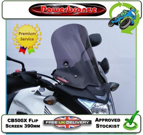 NEW POWERBRONZE FLIP SCREEN IN LIGHT TINT TO FIT HONDA CB500 CB500X CB 500 X 13