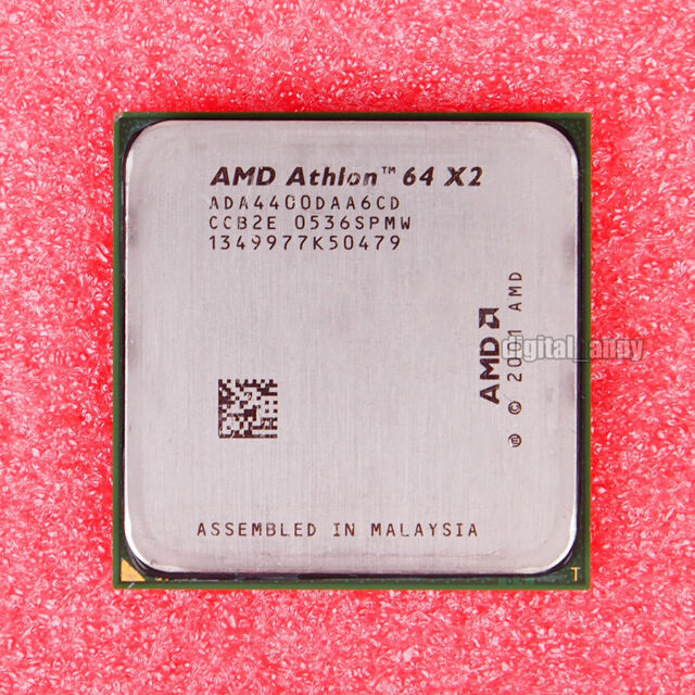 AMD Athlon 64 X2 4400+ 2.2 GHz Dual-Core CPU Processor ADA4400DAA6CD Socket 939