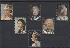GB 2013 MNH Her Majesty Queen Six Decades Royal Portraits 6v Set Elizabeth II