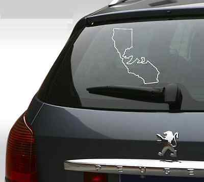 "Cali Bear State Sticker Decal California 5/"" JDM #DigiPrint CaliBearStateFC"