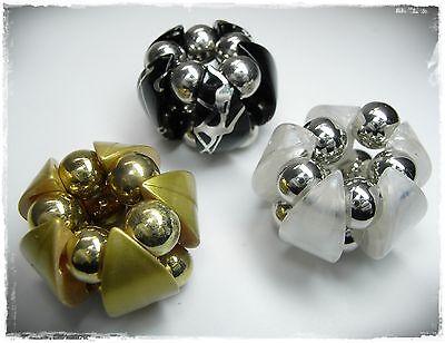 Women's Accessories 3 Clip Schalclip Silber/goldfarben/schwarz/weiß Tuchclip Schalhalter Tuchhalter