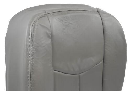 2003 2004 2005 2006 Chevy Silverado Driver Bottom Seat Cover Vinyl pewter gray