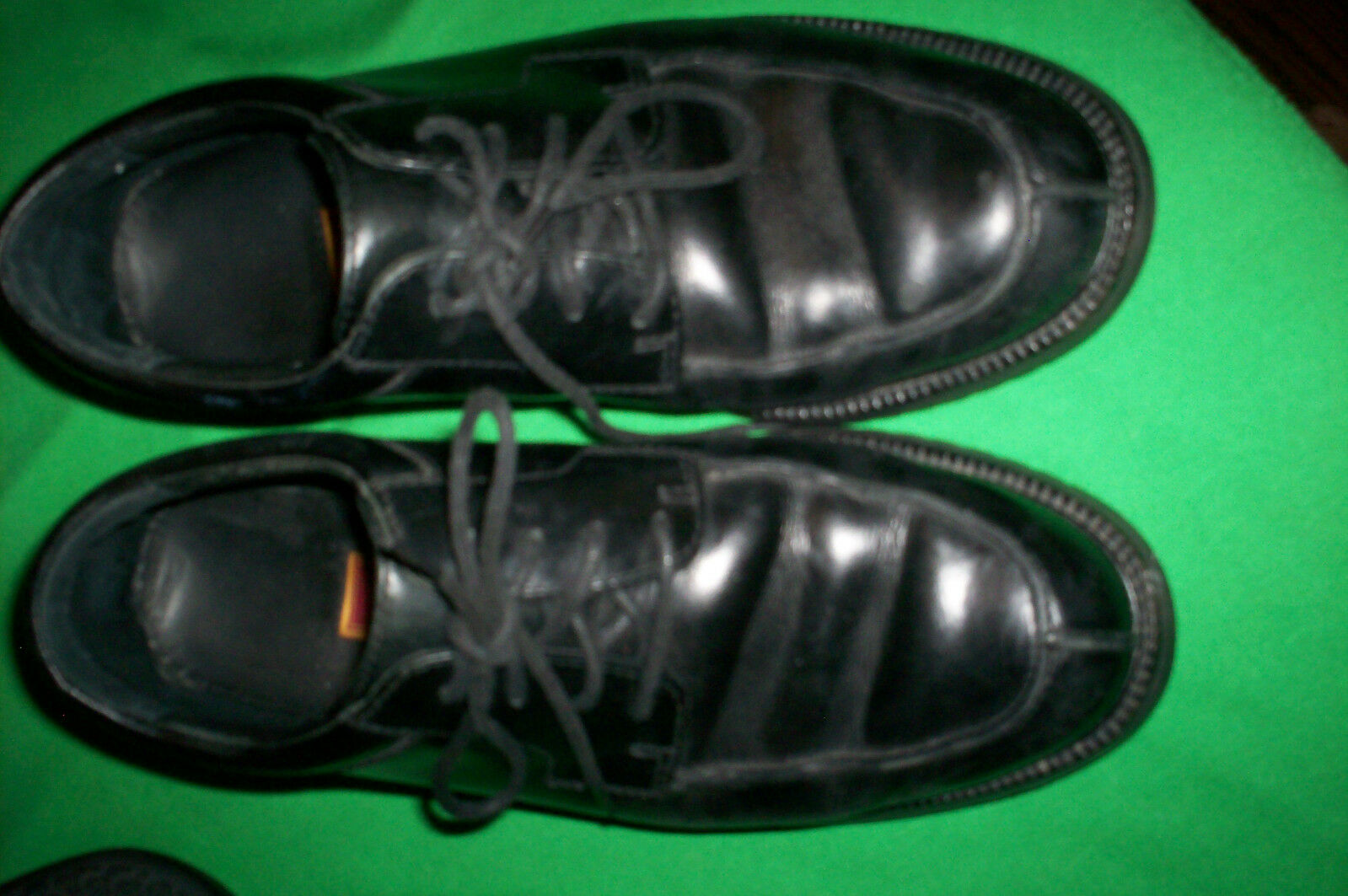 EUC COLE HAAN OXFORDS MENS WATERPROOF BLACK LEATHER OXFORDS HAAN SHOES 7M 5aef81