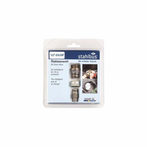 Stahlbus Engine Oil Drain Plug Valve Thread 1//2 inch 20UNF