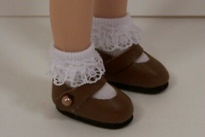 """Debs PINK Princess Flats Doll Shoes For Tonner 14/"""" Betsy McCall"""