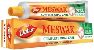 DABUR-MESWAK-ORAL-CARE-TOOTH-PASTE-AYURVEDA-100-GRAM-FREE-SHIPPING