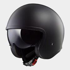 XL Rebel Last Stand Eureka Flag Open Face Matt Black Motorbike Helmet