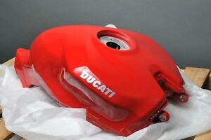 GENUINE-DUCATI-58611923AA-RED-GAS-FUEL-PETROL-TANK-SUPERBIKE-PANIGALE-1199-1299