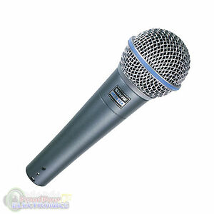Shure-BETA-58A-Supercardioid-Dynamic-Microphone-w-High-Output-Neodymium-Element