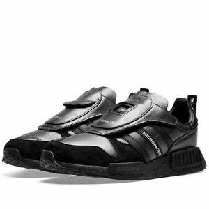 Details about Adidas Micropacer X R1 Core Black Leather Men's Trainers All  Sizes Brand New