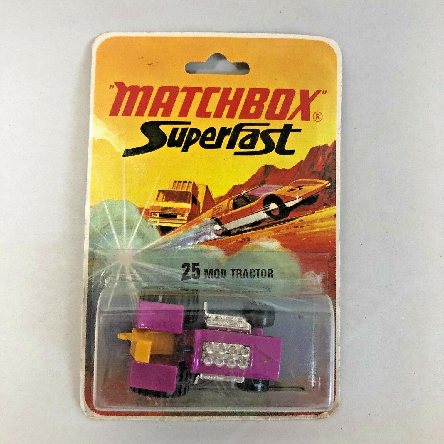 1972 Matchbox Superfast Mod Tractor MOC NOS