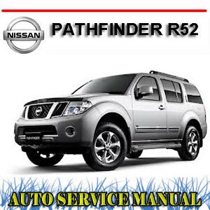 nissan pathfinder 2014 service manual pdf