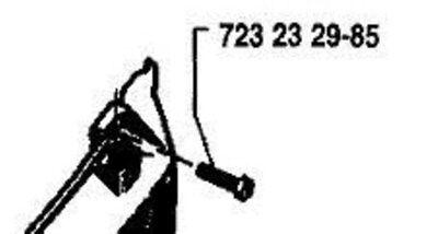 4 RECOIL COVER SCREWS HUSQVARNA 61 66 44 51 55 162 723232985 = 724132955