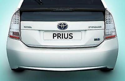 Original Toyota Prius Arranque Trasero Cromado Decorar