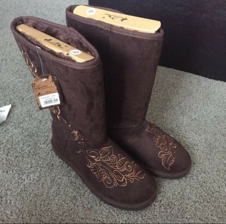 Montana West Winter Boots Size 9