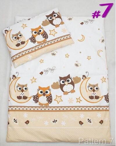 Kinder Bettbezug Set Fassungen Gitterbett,Gitterbett Wiege mit Säugling