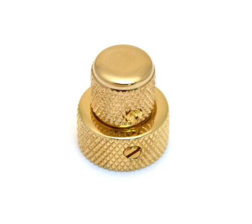 Genuine Fender Gold Stack Knob for American Deluxe P Bass 005-8337-000 1